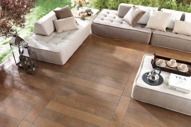 wood effect tiles outside