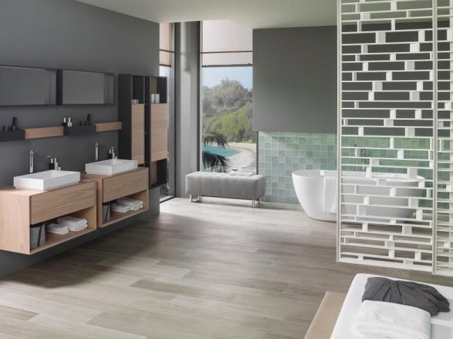 forest acero wood effect tile