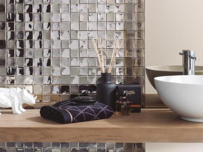 studio metal wall tiles