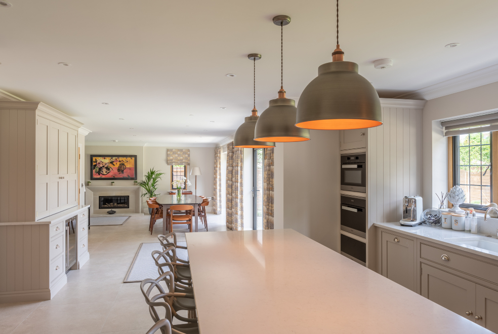 Surrey Tiles Featured Home | Guildford new build with ...